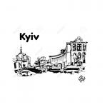 Kiev sketch for BLOG